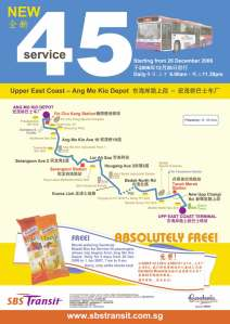SBS Transit Release Poster