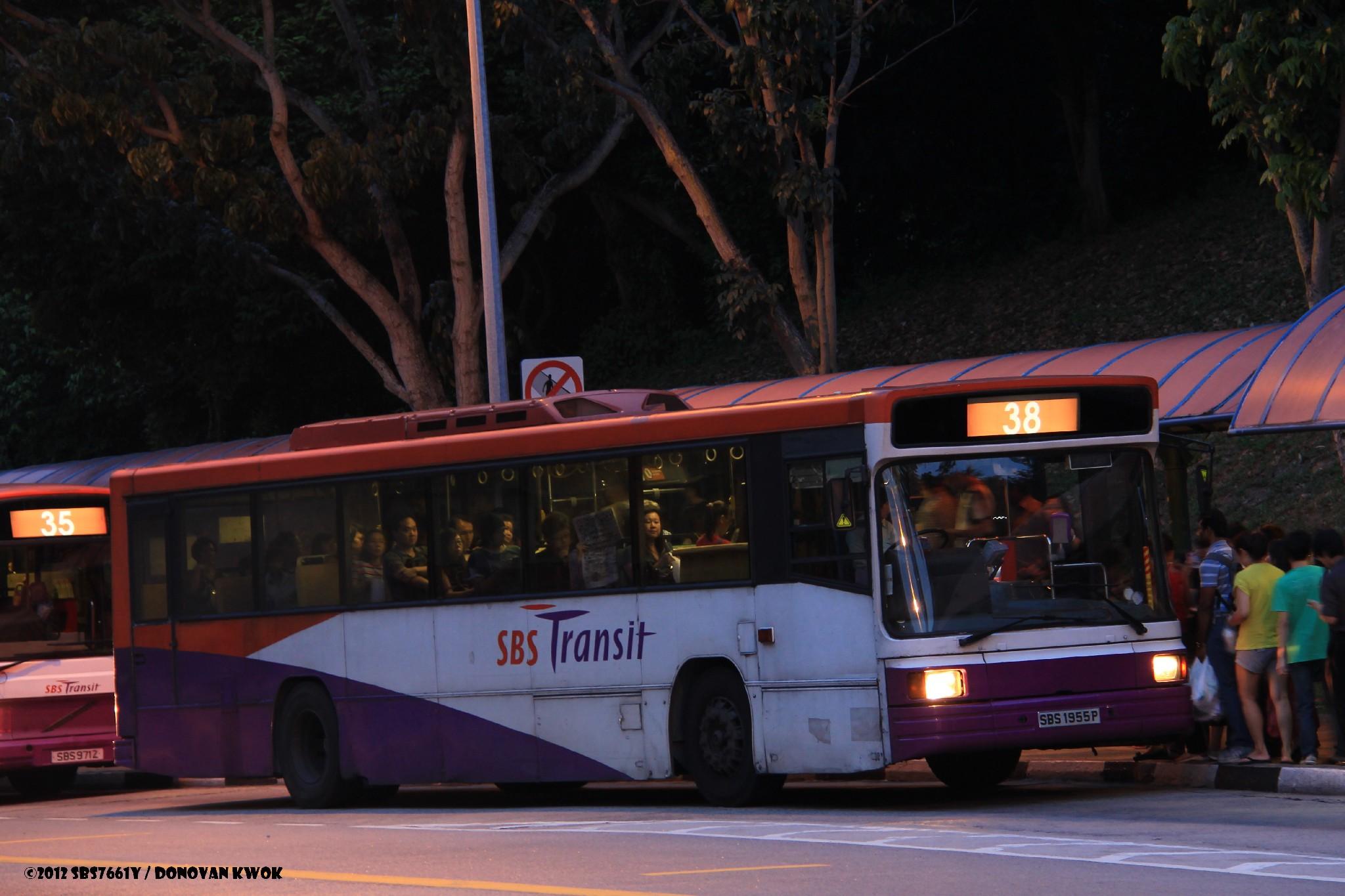 SBS Transit Bus Service 38 | Public Transport SG