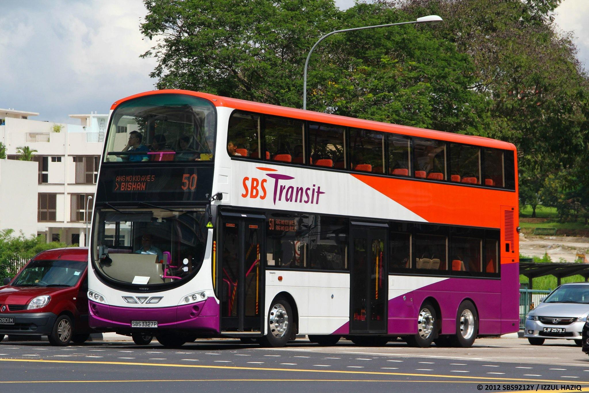 Sbs Transit Bus Service 50 Public Transport Sg