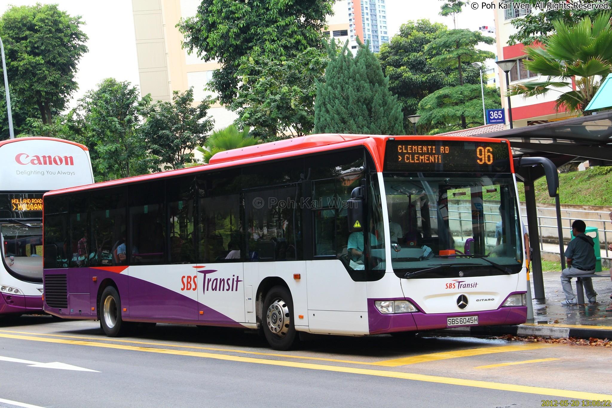 Sbs transit bus service 96 land transport guru for Mercedes benz sugar land service