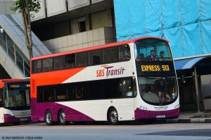 SBST Volvo B9TL Wright (BSEP) (SBS3323A) - Service 513