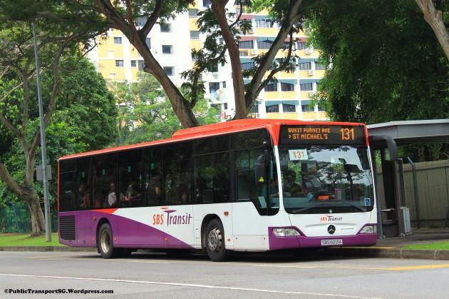 SBST Mercedes-Benz Citaro (SBS6013A) - Service 131