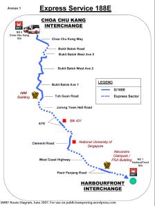 SMRT Route Diagram
