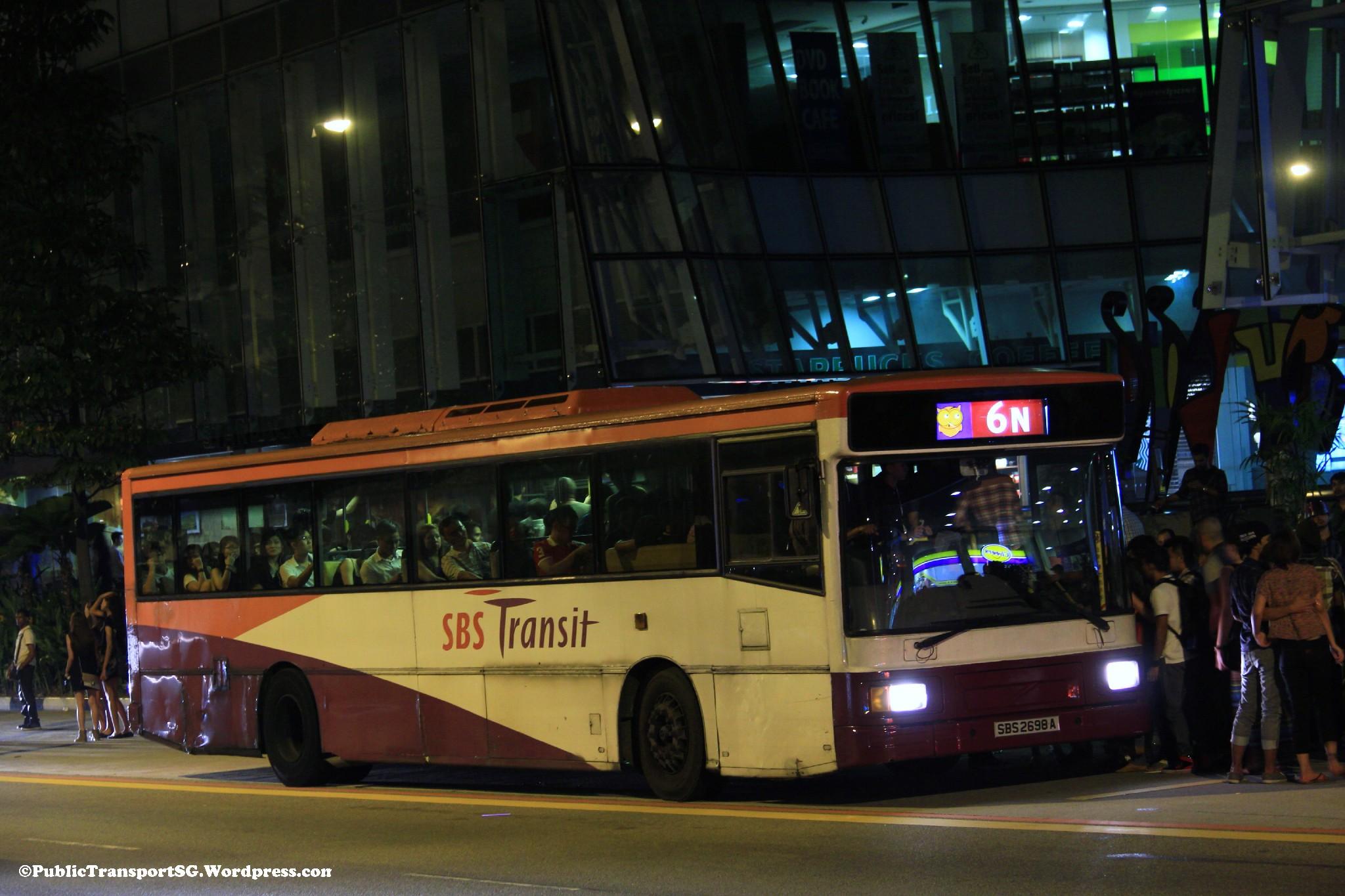 N Owl Next Bus SBS Transit Nite Owl 6...