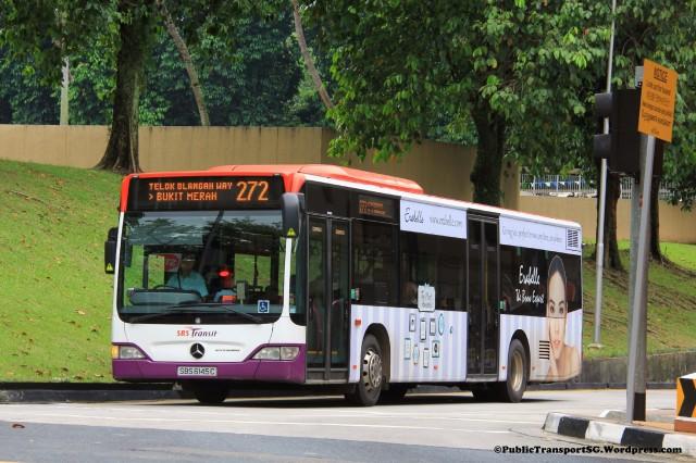 SBST Mercedes-Benz Citaro (SBS6145C) - Service 272