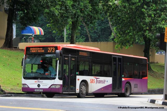SBST Mercedes-Benz Citaro (SBS6167P) - Service 273