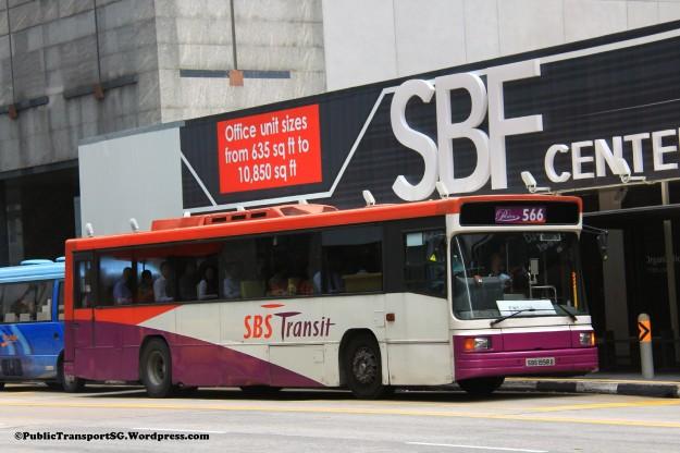 SBST Volvo B10M MkIV Strider (SBS1958G) - Premium 566