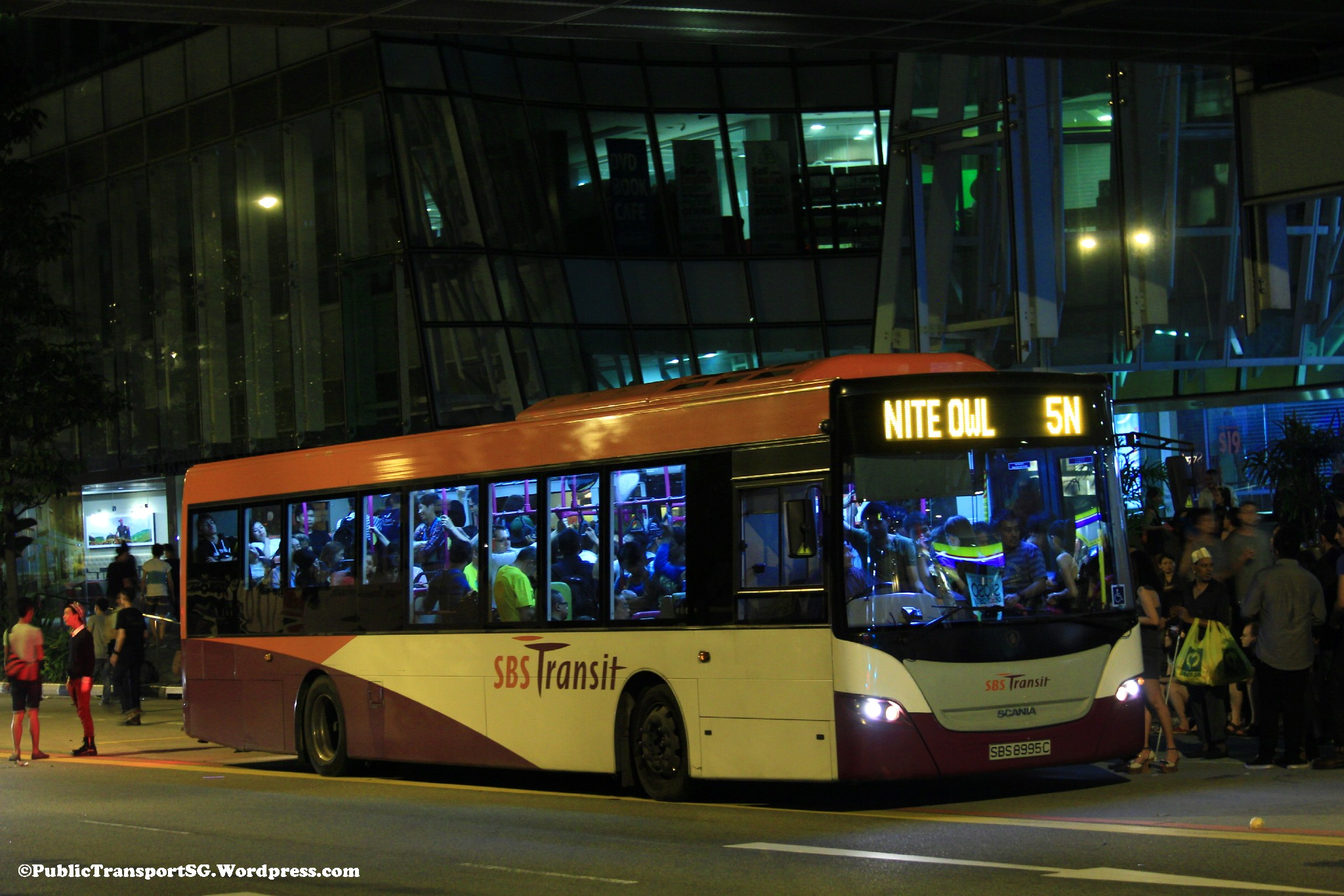 N Owl Next Bus SBS Transit Nite Owl 5...