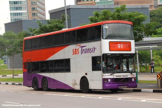 SBST Volvo Olympian 3-axle (SBS9396A) - Service 91