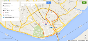 Actual route to Kotaraya II Ter