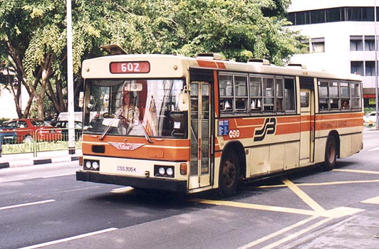 A Non Air-conditioned Hino HT228K (CSS) on CSS 602
