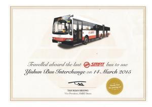 Now you can own your own Yishun last bus certificate! (Click for larger image)