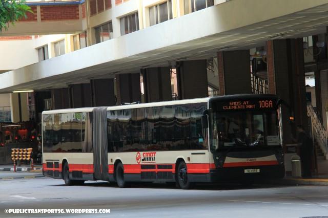 SMRT Mercedes-Benz O405G (Hispano Habit) (TIB) - Service 106A