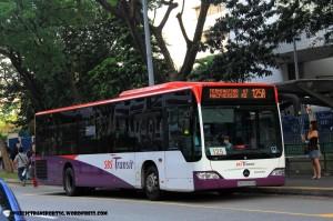 SBST Mercedes-Benz Citaro (SBS6060M) - Service 125A