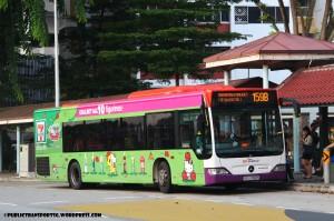 SBST Mercedes-Benz Citaro (SBS6086S) - Service 159B
