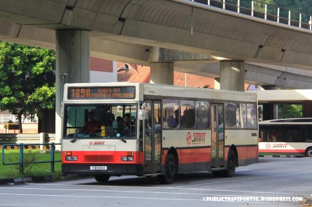 SMRT Mercedes-Benz O405 (TIB) - Service 189A