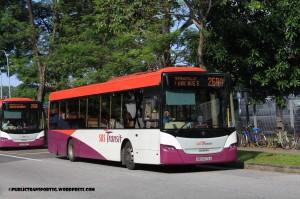 SBST Scania K230UB (SBS5076A) - Service 268A