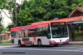 SBST Mercedes-Benz Citaro (SBS6012C) - Service 269A