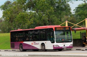 SBS Transit Mercedes-Benz O530 Citaro (SBS6135G) - Service 27A