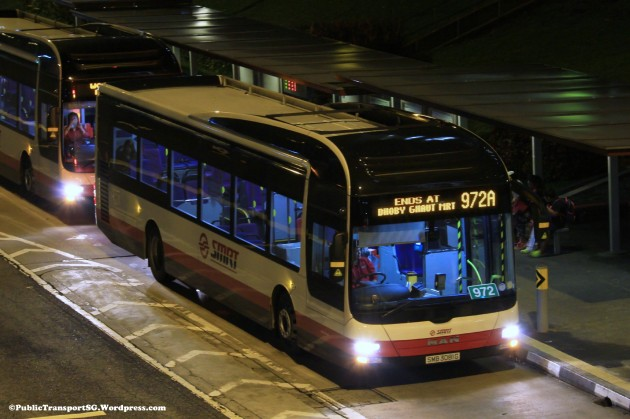 SMRT MAN NL323F A22 (SMB3081G) - Service 972A
