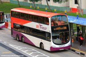 SBST Volvo B9TL Wright (SBS3355H) - Service 31A