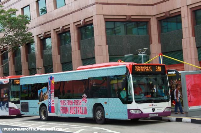 SBS Transit Mercedes-Benz O530 Citaro (SBS6143H) - Service 34A