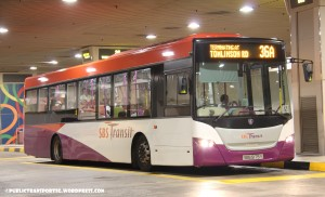 SBS Transit Scania K230UB Euro5 Batch1 (SBS5175Y) - Service 36A