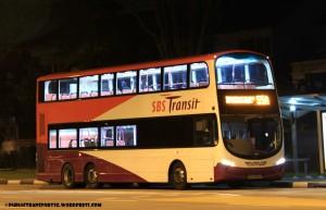 SBST Volvo B9TL Wright (SBS3185G) - Service 55A