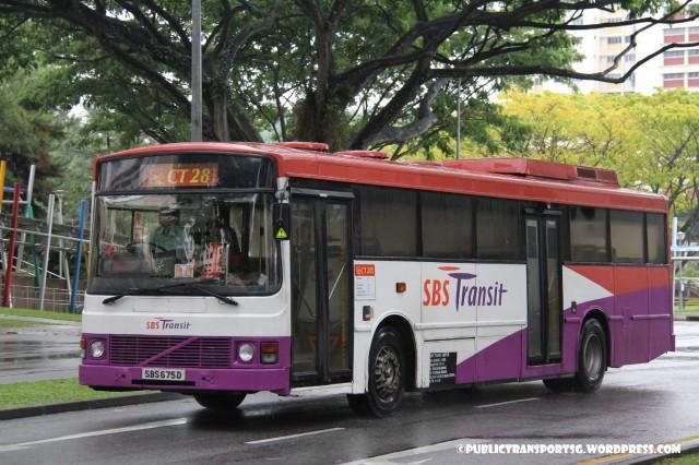 SBS Transit Volvo B10M MkIII () - Chinatown Direct CT28
