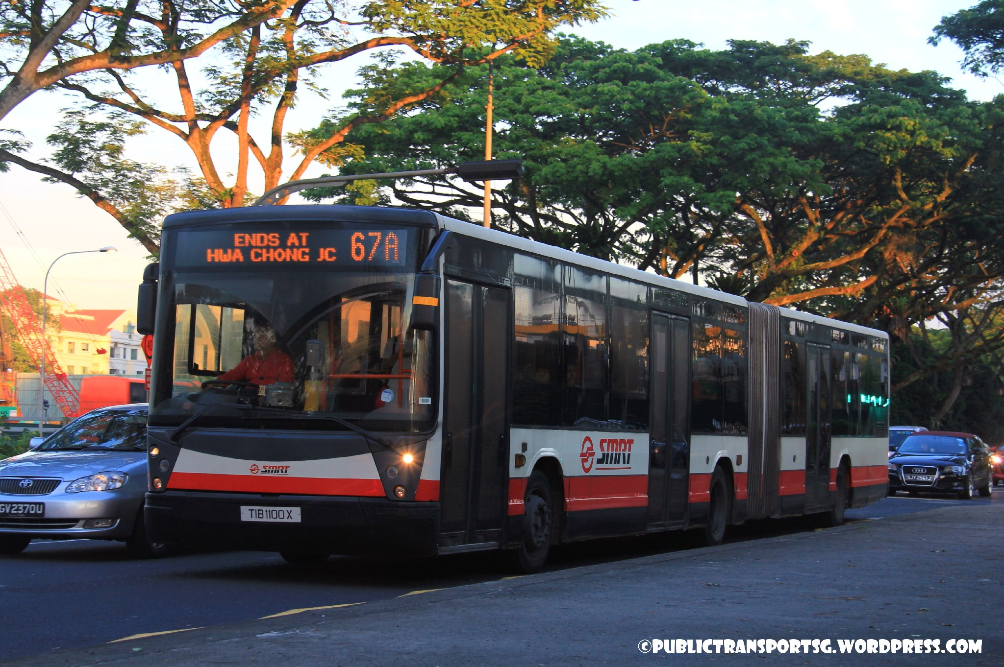 Smrt bus service 67 public transport sg for Plaza mercedes benz service