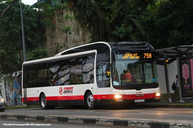 SMRT MAN NL323F (SMB1355E) - Service 75A