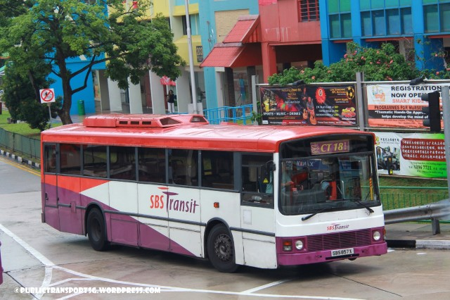 SBS Transit Volvo B10M MkIII () - Chinatown Direct CT18