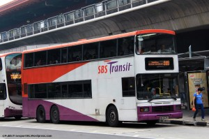 SBST Volvo Olympian 3-axle (SBS9628G) - Service 98B