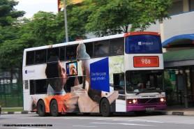 SBST Volvo Olympian 3-axle (SBS9274T) – Service 98B