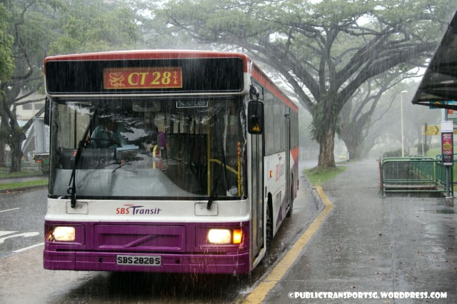 SBS Transit Volvo B10M MkIV DM3500 () - Chinatown Direct CT28