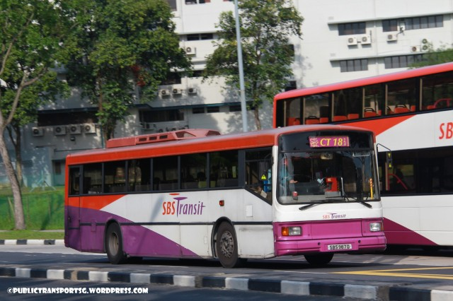 SBS Transit Volvo B10M MkIV DM () - Chinatown Direct CT18