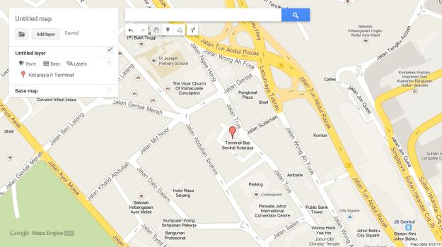 Location of Kotaraya II. Click for larger image.