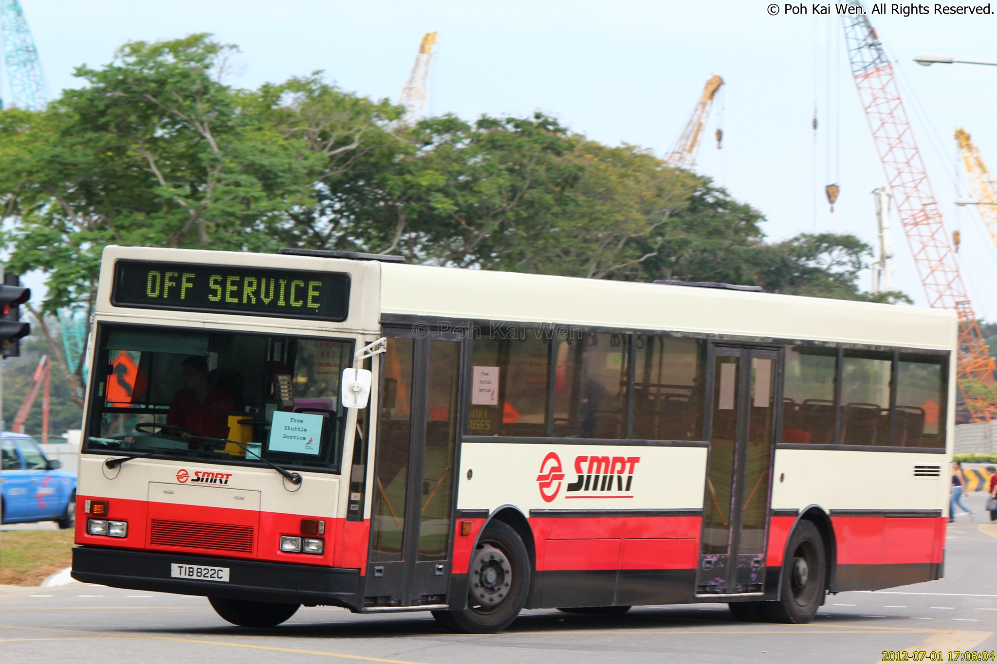 smrt buses Gentle reminder that svc improvement has been made to shuttle bus svc 6 for better connectivity shuttle bus svc 6 will now be extended to ply from raffles place to.