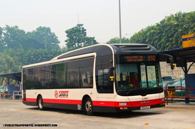 SMRT MAN NL323F (SMB261Z) - Service 950 (JB-Registered)