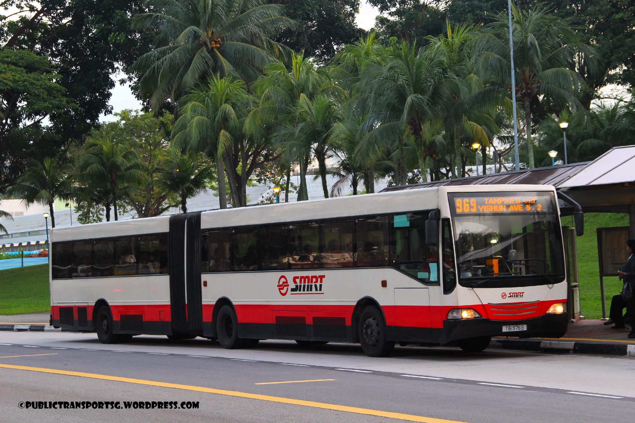 Smrt bus service 969 public transport sg for Mercedes benz woodlands service