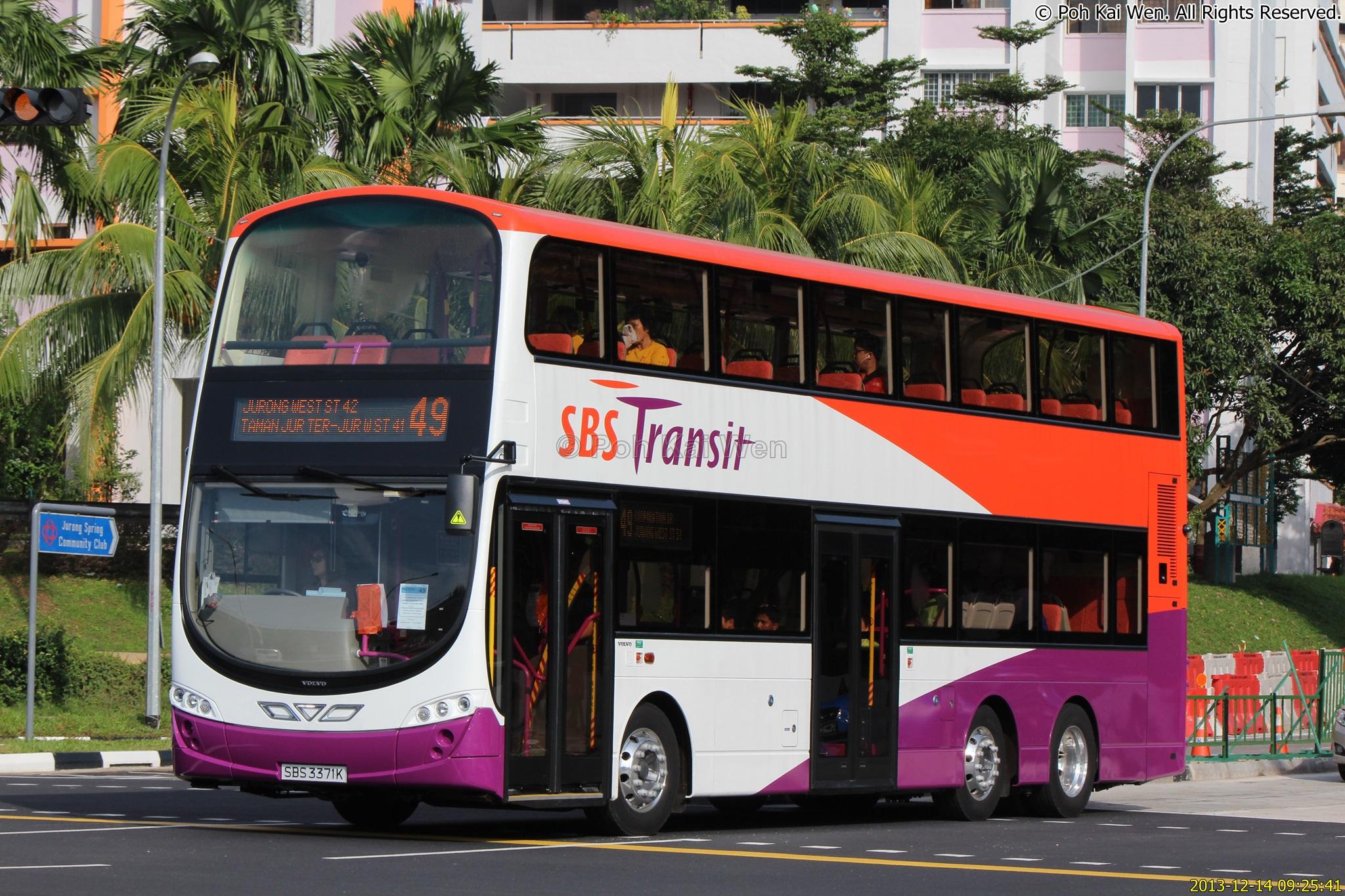 SBS Transit Bus Service 49 | Public Transport SG