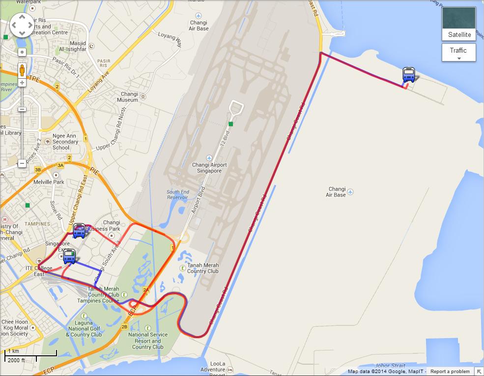 Getting to Singapore Airshow 2016 | Land Transport Guru