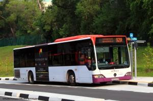 SBST Mercedes-Benz Citaro (SBS6025R) - Service 92A