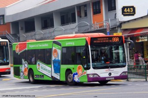 SBST Mercedes-Benz Citaro (SBS6045H) - Service 96A