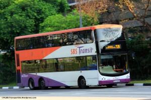 SBST Volvo B9TL CDGE (SBS7482E) - Service 72B
