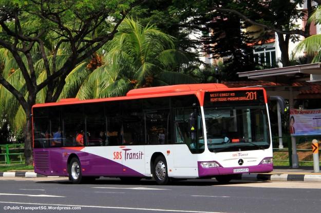 SBST Mercedes-Benz Citaro (SBS6493Y) - Service 201