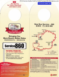 BSEP Promotional Hanger for Service 860