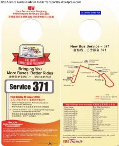 BSEP Promotional Hanger for Service 371