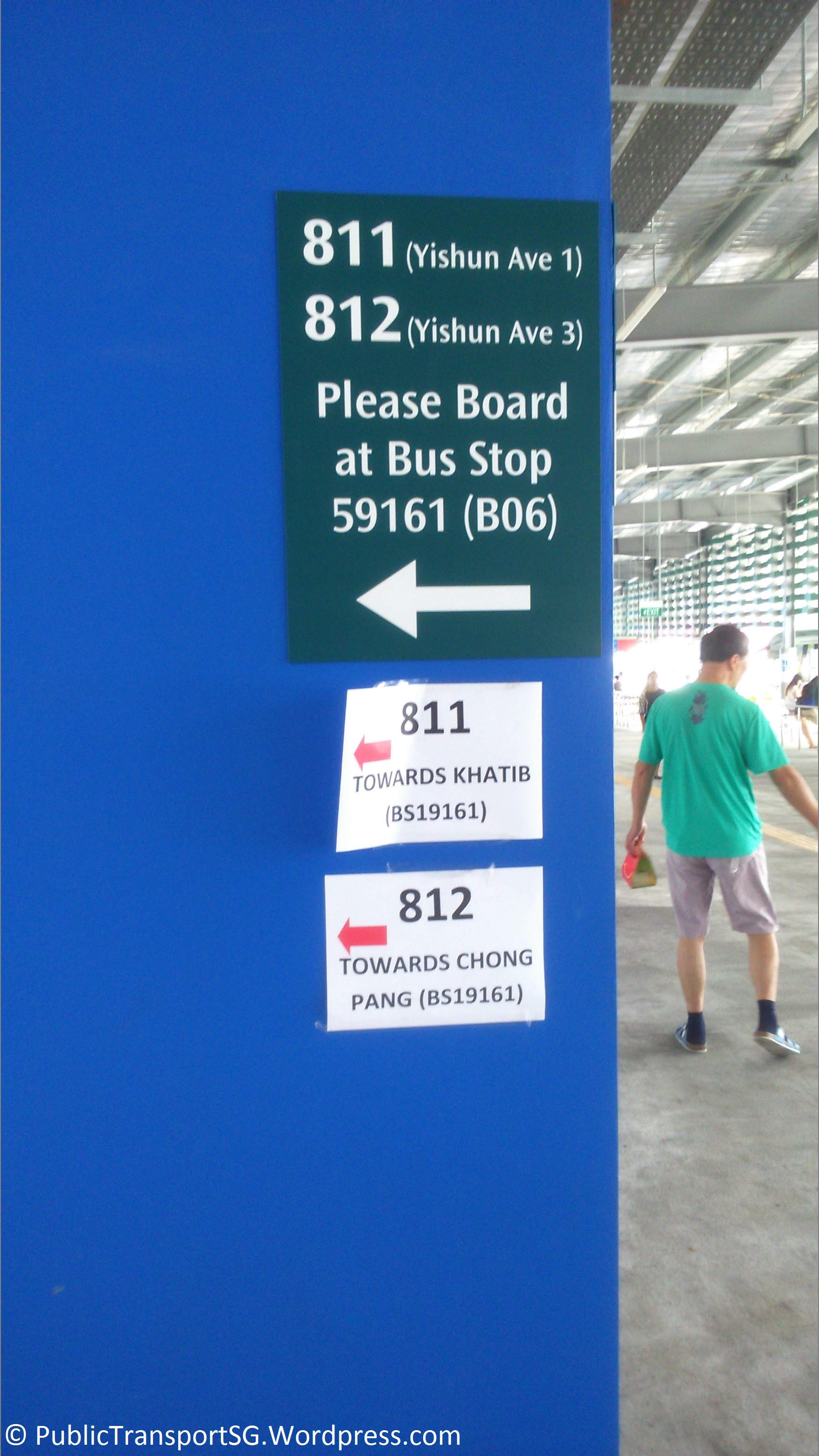 Yishun Temporary Bus Interchange | Public Transport SG