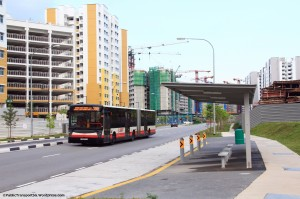 New bus stops along CCK Ave 5 for Service 983